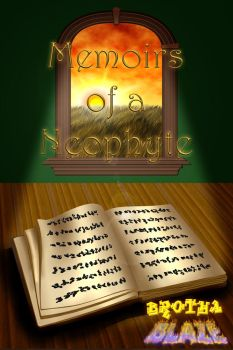Book cover #04 Memoirs of a Neophyte by KeithMcMurran