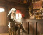 Saloon Black Cat by KayLynn-Syrin