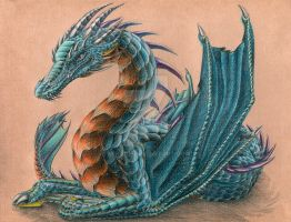Queen of cheiropterans dragons by Behane