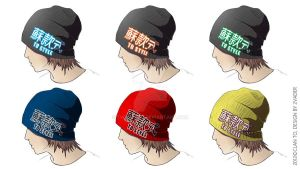 Beanie Designs by twovader