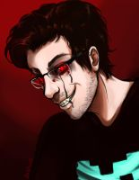 Darkiplier by Gelidwolf