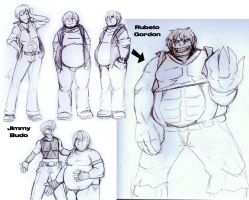 Abberant RPG Characters by eecomics