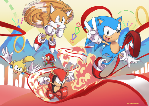 Sonic Mania Plus by Jeffanime