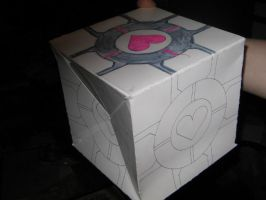 Weighted Companion Cube WIP by quazo