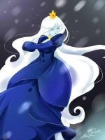 Ice Queen : Adventure Time by yuzuhana