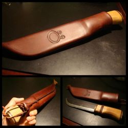Leuku Sheath Finished by Makeshitoholic