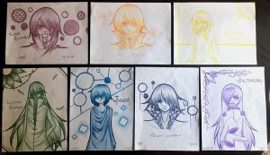 Rainbow Art Collection by Xentrias
