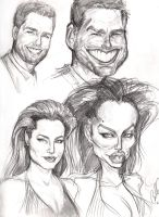 caricature Sketches Page 3 by Carliihde