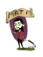mati-don't starve ver. by Alex-hime-san