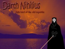darth nihilus lightsabre by lyness
