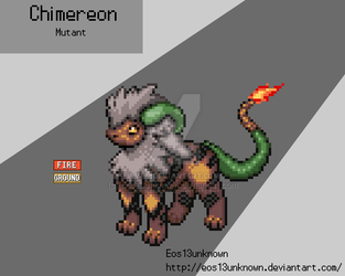 Chimereon Mutant  by Eos13unknown