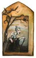 The Crone by RonnyVardy