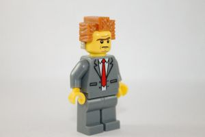 LEGO Lord Business by robchange