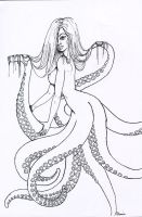 Tentacle womaaan by Drunk-Sincerity
