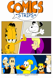 My Comics Strips cover by FTFTheAdvanceToonist