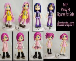 MLP Human Pinky St Figures For Sale by bluepaws21