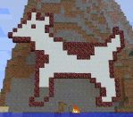 Clarus the Dogcow, Minecraft by JellyfishGreen