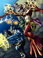 Celflux Issue No.1 Variant Cover Final by gemgfx