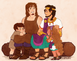 AT: family gathering by FlopyLopez