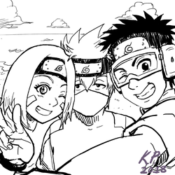 Smile, Kakashi! by BotanofSpiritWorld