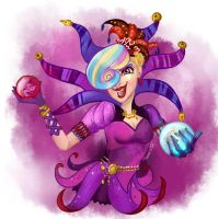 Courtly Jester by ThemisDolorous