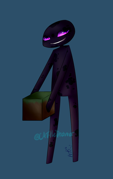 Enderman for DaliaTDM by CATtheDrawer