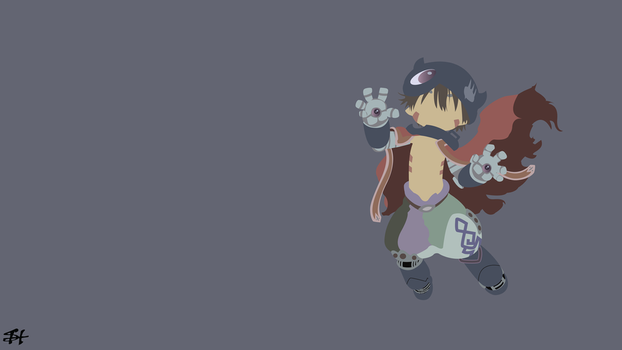 Reg (Made In Abyss) Minimalist Wallpaper by slezzy7