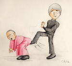 Kicking Bishop Brennan Up the Arse by julie090995