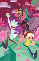 Rick and Morty by katyillustrates