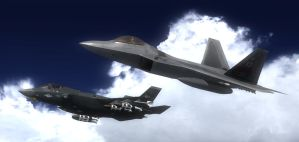 Stealth Formation 2 by agnott