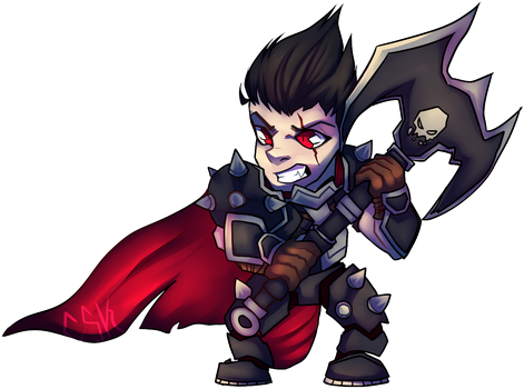 Chibi Darius by CrazySpartanKitten