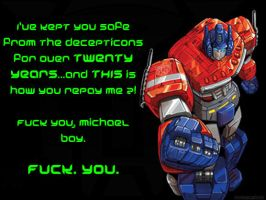 A Message from Optimus Prime by JamesRiot
