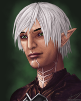 Fenris - A Portrait by Banni-Whitemane