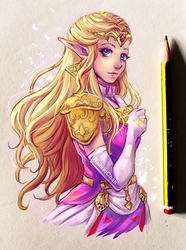 Princess Zelda by Nasuki100