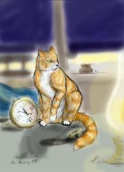 Skimbleshanks, the Railway cat - def by 2Grizabella7