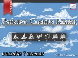 Painted Cloud Brush by dreamswoman