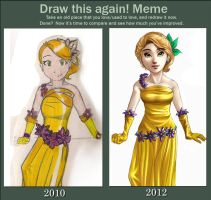 Draw This Again Meme Clarie by Dahnell
