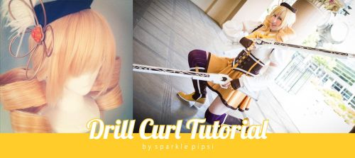 Drill Curl Tutorial by SparklePipsi