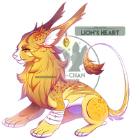 Gyde Auction: Lion's Heart | closed by tonerukun