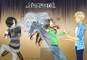 Awkward Split by InsertSomthinAwesome