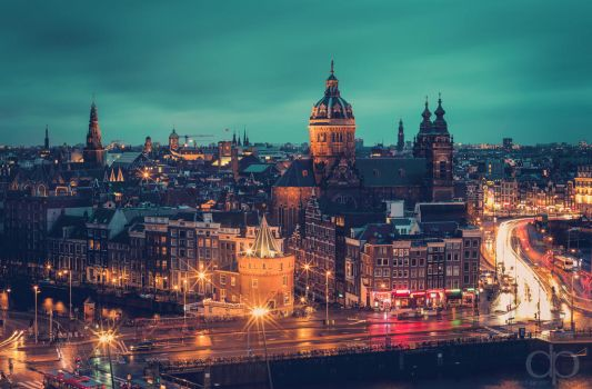 Amsterdam II by Dapicture