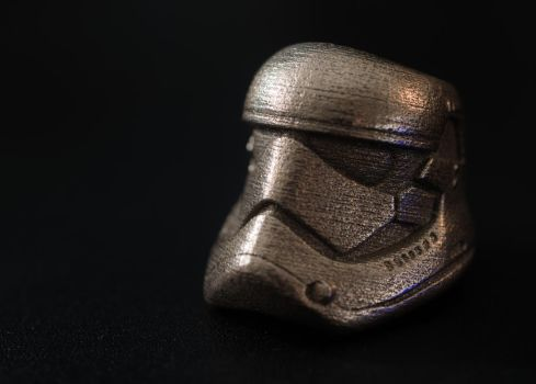 First Order Stormtrooper Ring by electrofilms