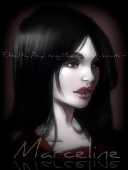 Marceline Fan Art Edited #1 by PonyLovingMinecraft