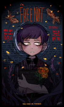 You make me Marigold by Ghosticalz