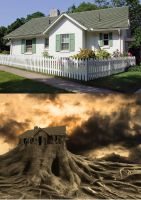 The house on the edge of reality ... by gayaliberty