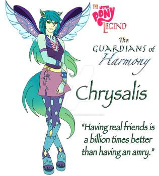Chrysalis of The Guardians of Harmony by MaggiesHeartLove