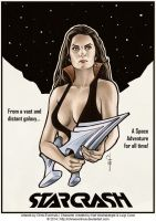 StarCrash Poster by ChrisEvenhuis