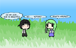 (walfas) Sanae and Godeung by Godeung