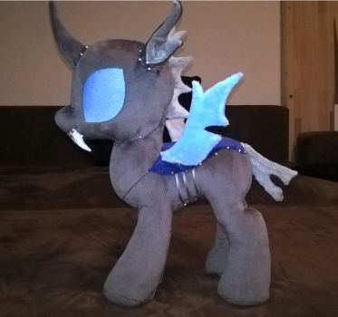 Changeling Plush  Prototype WIP by JusticeOfElements