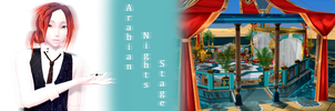 [MMD] Arabian Nights Stage DL by JoanAgnes